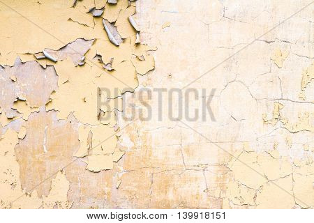 Damaged Plaster Wall Background