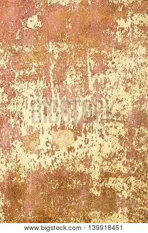 Grungy Colorful Plaster Or Cement Wall Aged Texture  Background