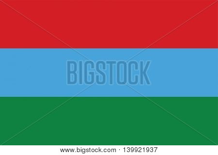 Vector Karelia flag