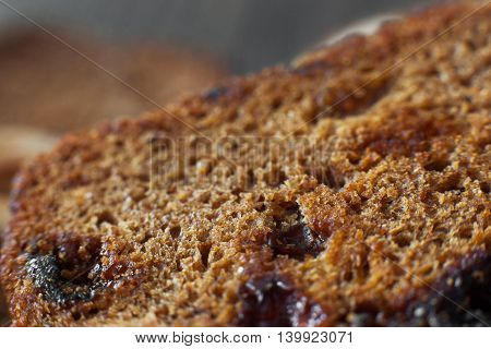Bakery Sweet Bread Snack Appetizer Diet Background Brown Concept