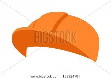Construction helmet illustration
