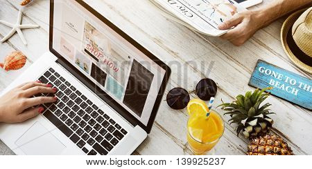 Advertising Sale Campaign Promotion Shopping Concept