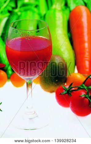 Fresh colorful vegetables