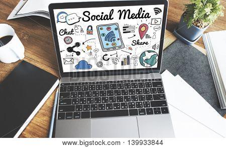 Social Media Share Graphic Concept