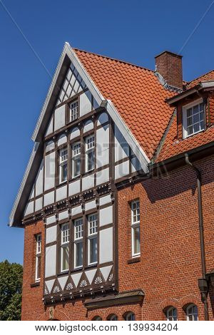 Half Timbered House In The Historical Center Of Bad Bentheim