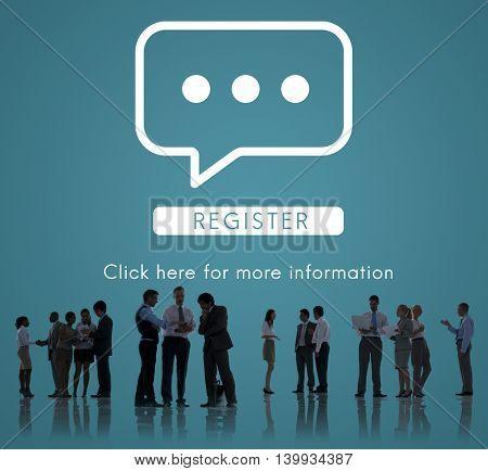 Communication Online Conversation Message Concept