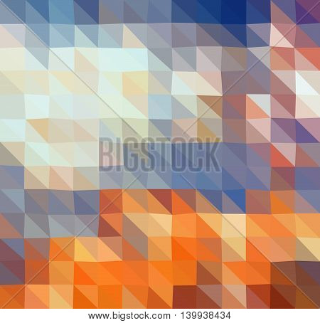 Colorful Multicolor Tetragon Geometric Low Poly Gradient Graphic Background Vector Eps10