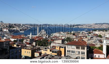 Istanbul City In Turkey
