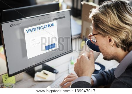 Verification Permission Accessible Security Concept