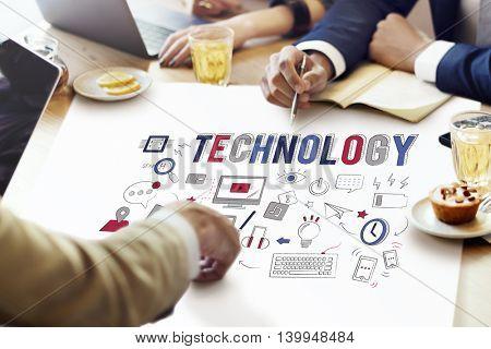 Technology Innovative Digital Evolution Innovation Concept