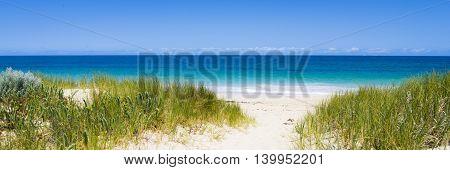 Blue water beach, Moore River, Western Australia
