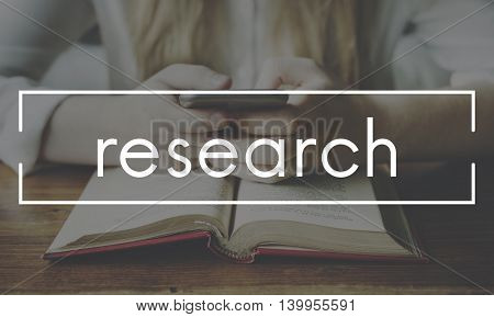 Research Answer Education Information Report Concept