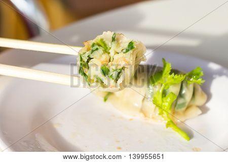 Shrimp Dumplings. Dim-Sum Shrimp Dumpling Dim-Sum Har Gow