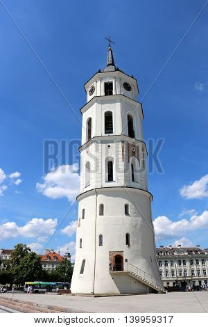 St. Stanislaus Cathedral in Vilnius, capital of Lithuania