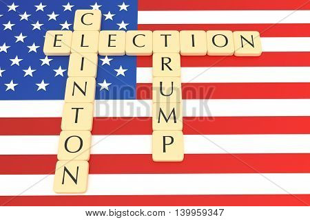 BERLIN GERMANY - JULY 26 2016: US election 2016