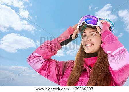 Young woman in sportswear outdoors