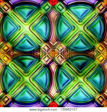 Seamless texture of abstract shiny colorful background 2D illustration