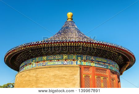 The Imperial Vault of Heaven at the Temple of Heaven in Beijing, China