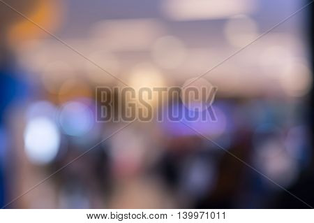 abstract colorful defocused circular faculaabstract blur background