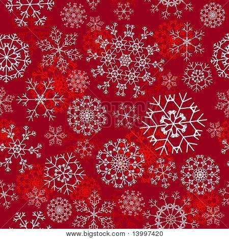 nahtlose Schneeflocken Hintergrund für Winter und Christmas theme