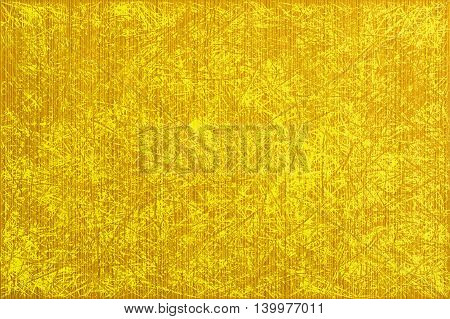 Yellow Abstract Paper Lines Style Macro Texture Scratched Styled