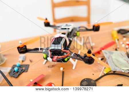 Drone building