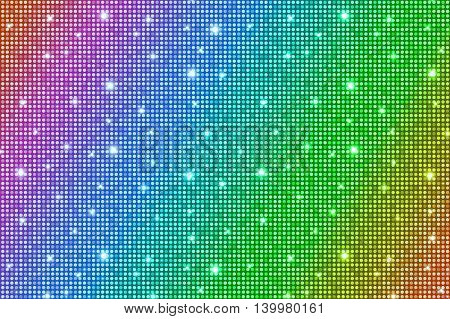 Tender Rainbow Shining Rounds Vintage Luxury Texture Background