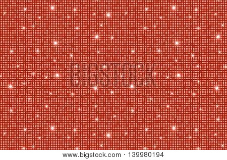 Red Shining Rounds Vintage Luxury Texture Background