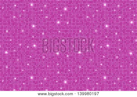 Pink Shining Rounds Vintage Luxury Texture Background