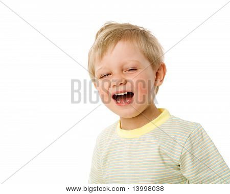 Boy Yawn
