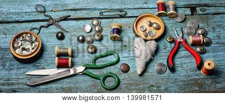Buttons And Thread