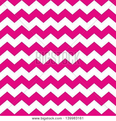 Tile vector pattern with white and violet zig zag background