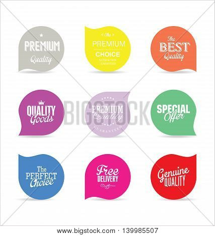 Modern Badges And Labels Collection 7.eps