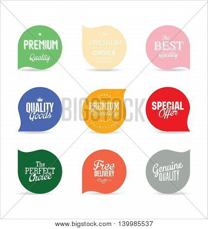 Modern Badges And Labels Collection 6.eps