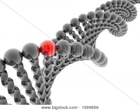 Red Gene In Dna