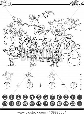 Maths Game For Coloring