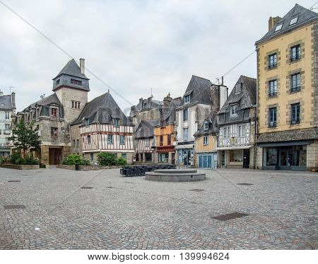idyllic city named Quimper in Brittany France