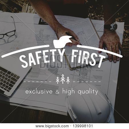 Safety FIrst Risk Management Surveillance Protection Concept