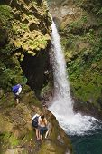 Oropendola Waterfall In Costa Rica