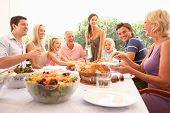 stock photo of 70-year-old  - A family - JPG