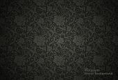 stock photo of swirly  - Seamless Floral Pattern - JPG