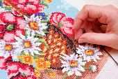 Embroiding A Picture
