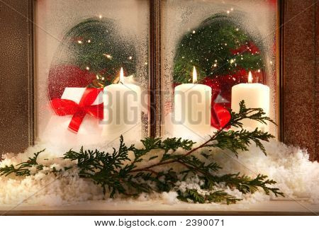 Three Window Candles