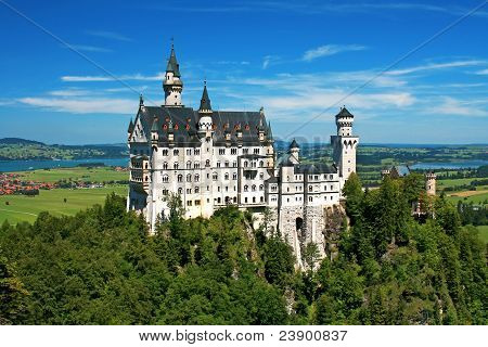 Neuschwanstein castle (Bavaria, Germany)