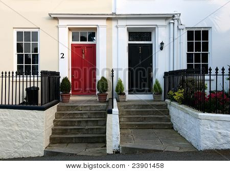 Red And Black Door.