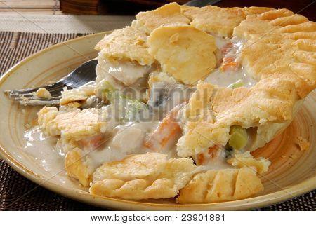 Hot Chicken Pot Pie