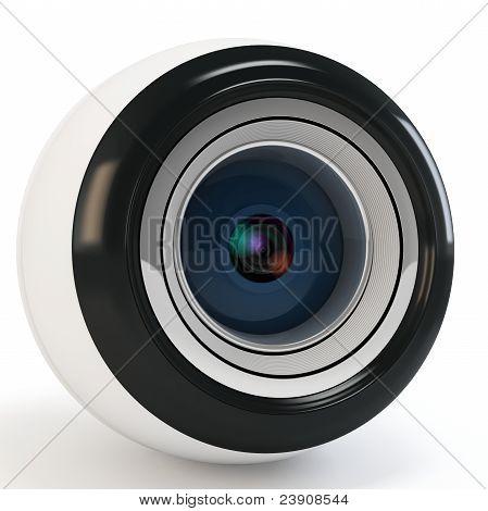 3D Modern Eye Camera