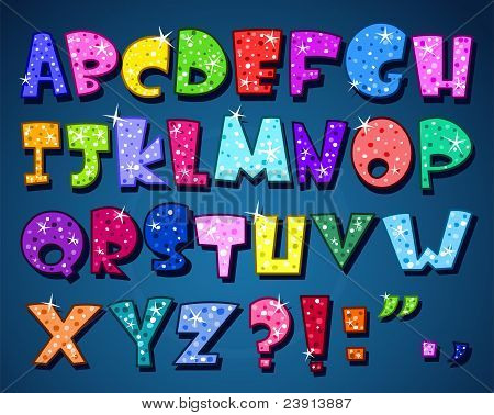 Alfabeto espumoso