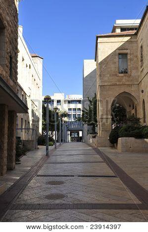 Street in Jerusalem.