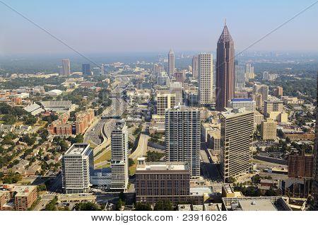 Paisaje urbano del centro de Atlanta